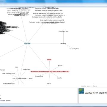 Muir Web interactive visualization