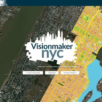 Visionmaker splash page