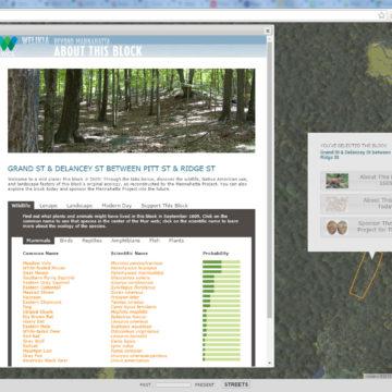 Welikia web map